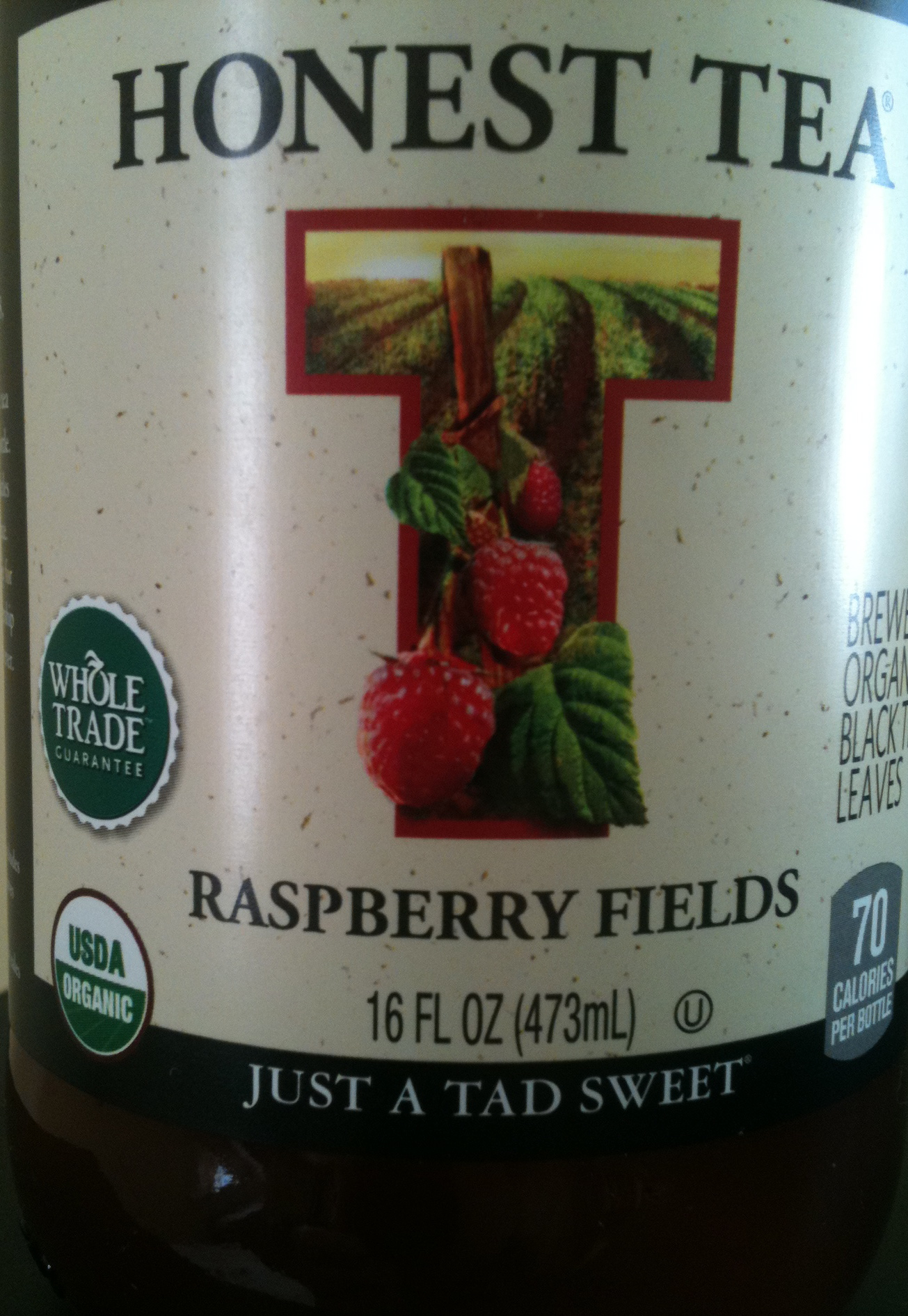 Raspberry Fields bottle