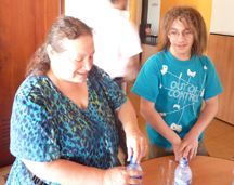 WFTD Sweepstake Winners: Iris and Evan in Sri Lanka