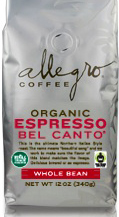 Bel Canto Estate Grown Coffee