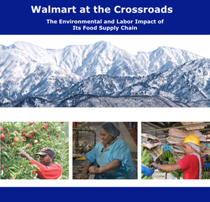 Problems in Wal-Mart's supply chain