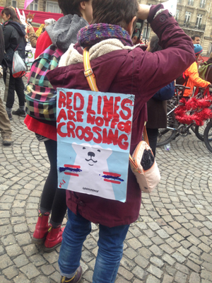 Red Lines are Not for Crossing - Paris 2015