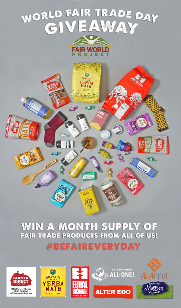 World Fair Trade Day Giveaway