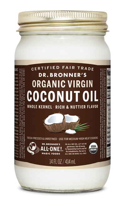 Dr. Bronner's Fair Trade Organic Coconut Oil