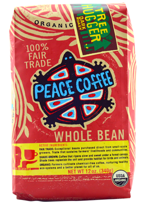 Peace Coffee Organic Tree Hugger Blend