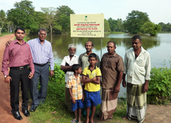 A Clean Community Lake: Funded by Fair Trade Premiums