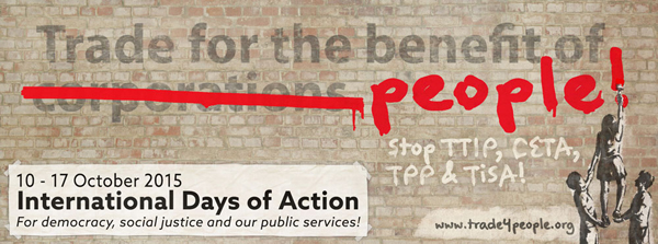 October 16th, International Day of Action...