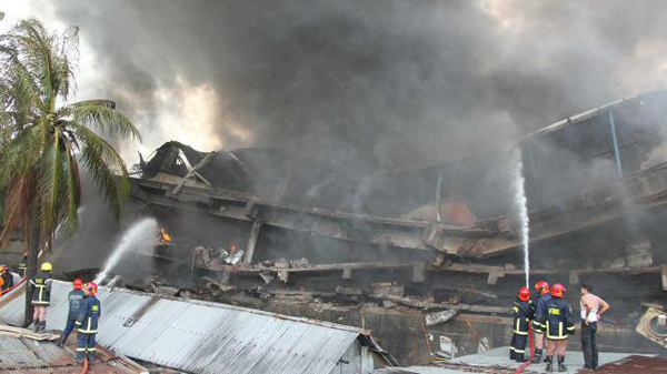 Fire at Nestle supplier Tampaco in Bangladesh