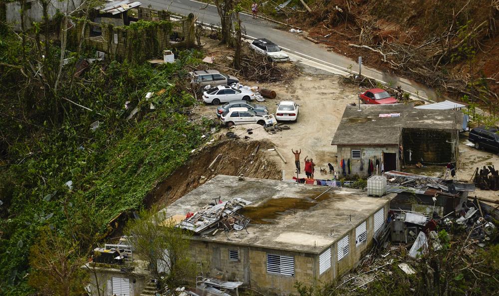 Puerto Rico - U.S. Air Force photo by Master Sgt. Joshua L. DeMotts