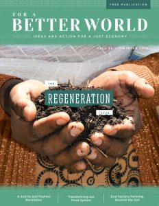 For a Better World Issue 15 Cover