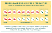 Global Land Use and Food Production Statistics