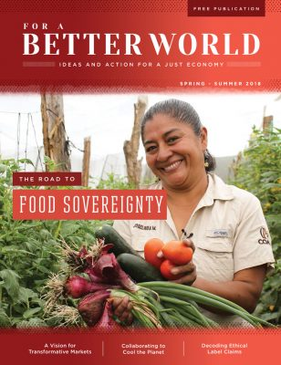 For a Better World Issue 16 Cover