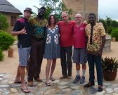 David Bronner, Olowondjo Tchala, Dana Geffner, Gero, Ryan Zinn in Togo