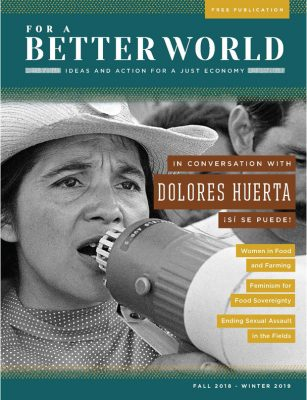 For a Better World - Issue 17 - Women in Food and Farming