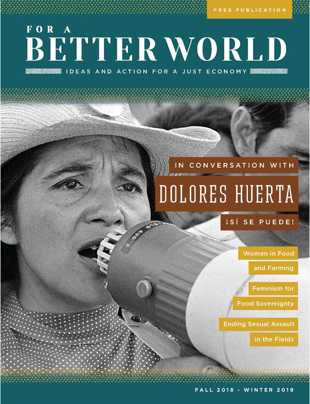 fOR A BETTER WORLD: ISSUE 17 - Women in Farming and Food
