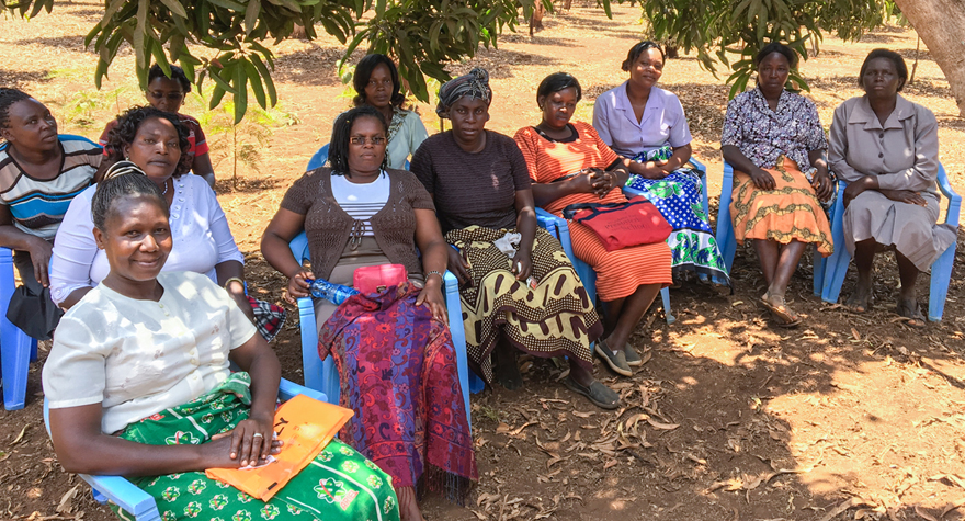 Katherine and Women of YieldWise Initiative