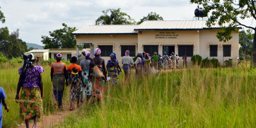 Alaffia funds health care for disadvantaged women - fair trade communities - West Africa