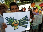 featured campaign: fair trade - Fair Trade Melon Worker on Fyffes' Plantation calls for fairness