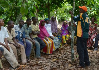 Fairtrade Deutschland - photo of ECOKIM Union Members in Côte d'Ivoire