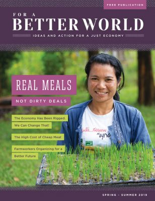 For a Better World Issue 18 - Spring Summer 2019 - Front Cover