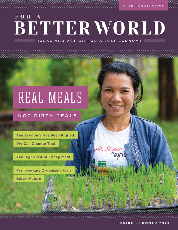 FOR A BETTER WORLD: ISSUE 18 - REAL MEALS