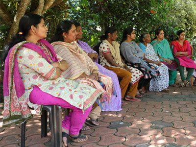 Women of Fair Trade Alliance Kerala in India