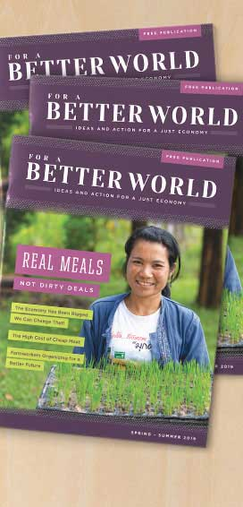 For a Better World Issue 18 - front cover - featured image