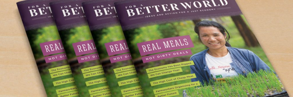 Cover of For a Better World Issue 18