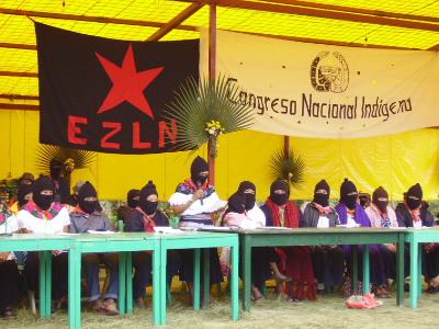 Gathering between the EZLN and civil society - Hilary Klein