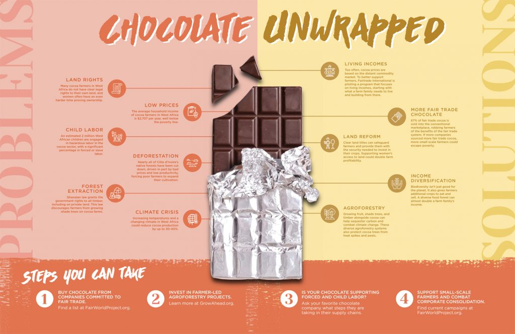 Chocolate Unwrapped Info Graphic