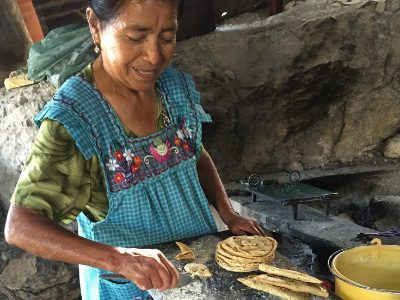 Robertina Osorio Reyes makes Tortillas - Mexico - Credit: Alyshia Galvez