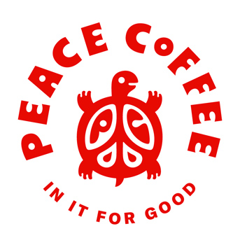 Peace Coffee Logo - In it for Good