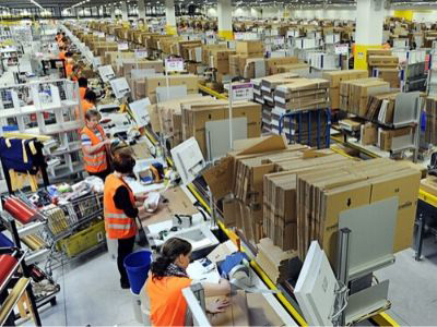 Amazon Warehouse - Photo Credit: Scott Lewis