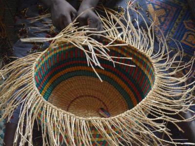 Basket Weaving - Ghana