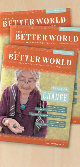 Issue 20 - For a Better World Cover - Home Page Image