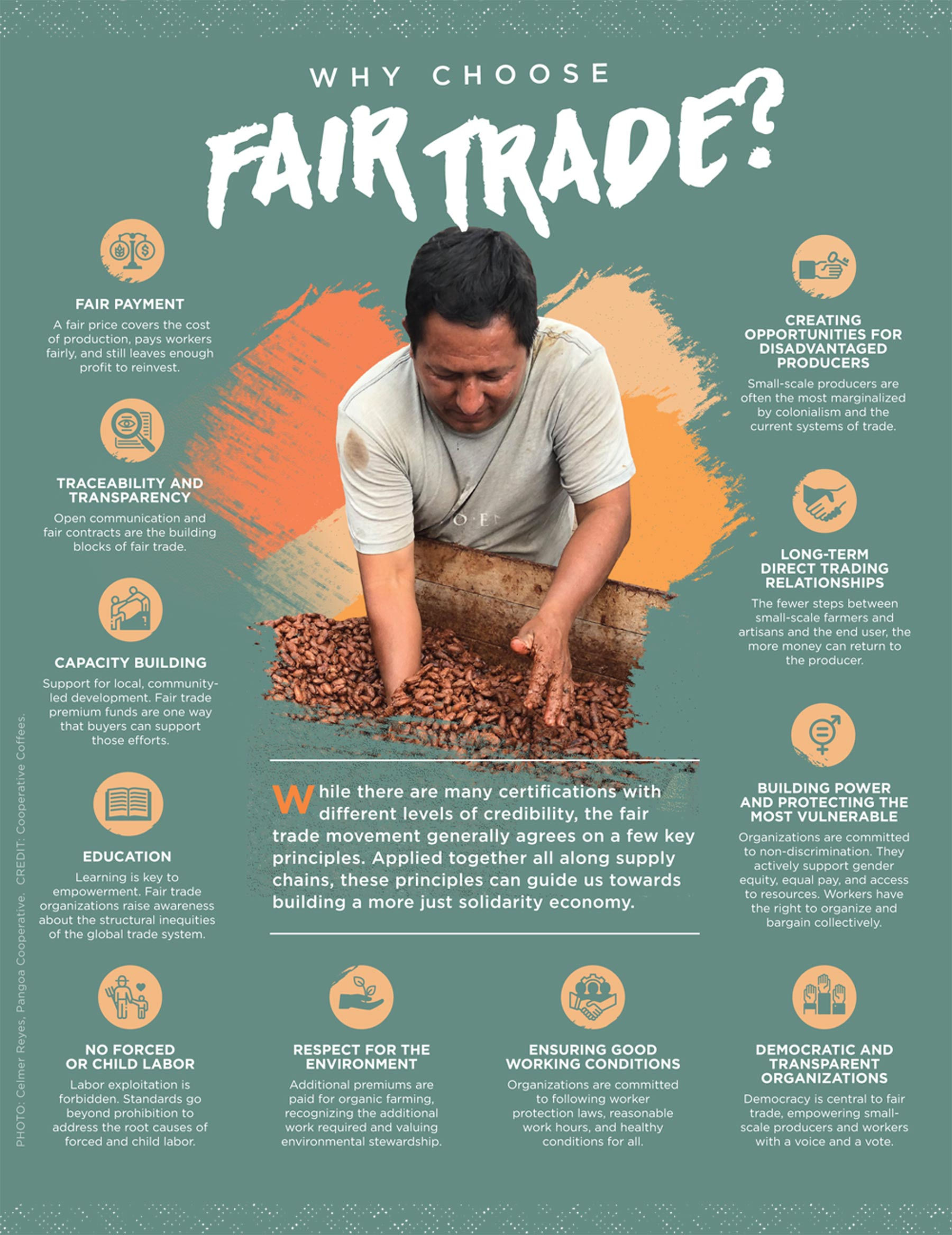 Fair Trade Principles Infographic