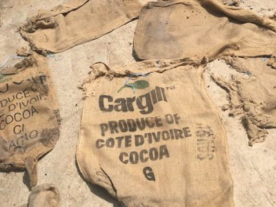 Cargill Cocoa Bags - International Rights Advocates