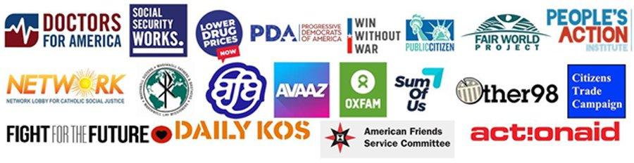Press Release Sign On Organization Logos